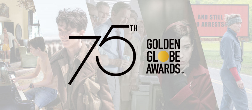 75th Annual Golden Globe Awards Nominees Announced