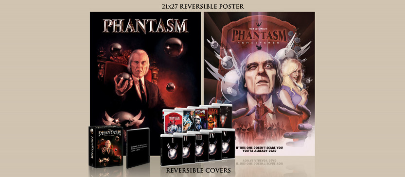The cult classic Phantasm films are coming to Blu-Ray