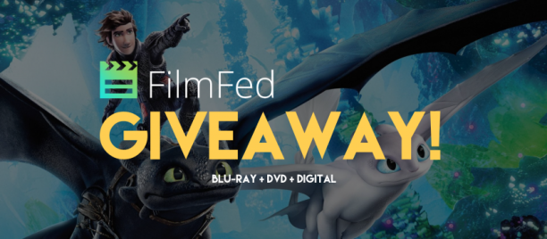 HOW TO TRAIN YOUR DRAGON: THE HIDDEN WORLD Blu-Ray + DVD + Digital Giveaway!