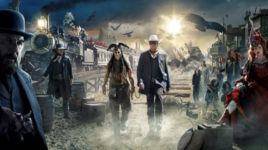 The Lone Ranger (2013) Image
