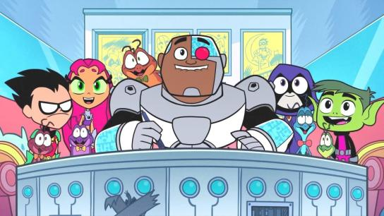 Teen Titans Go! See Space Jam (2021) Image