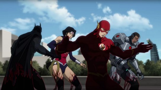 Justice League vs. Teen Titans (2016) Image