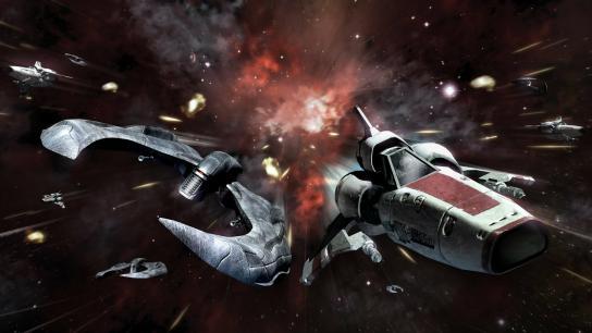 Battlestar Galactica: Blood & Chrome (2013) Image