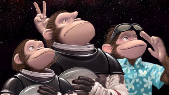 Space Chimps (2008) Image