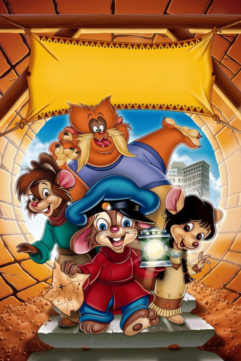 An American Tail The Treasure Of Manhattan Island Cast