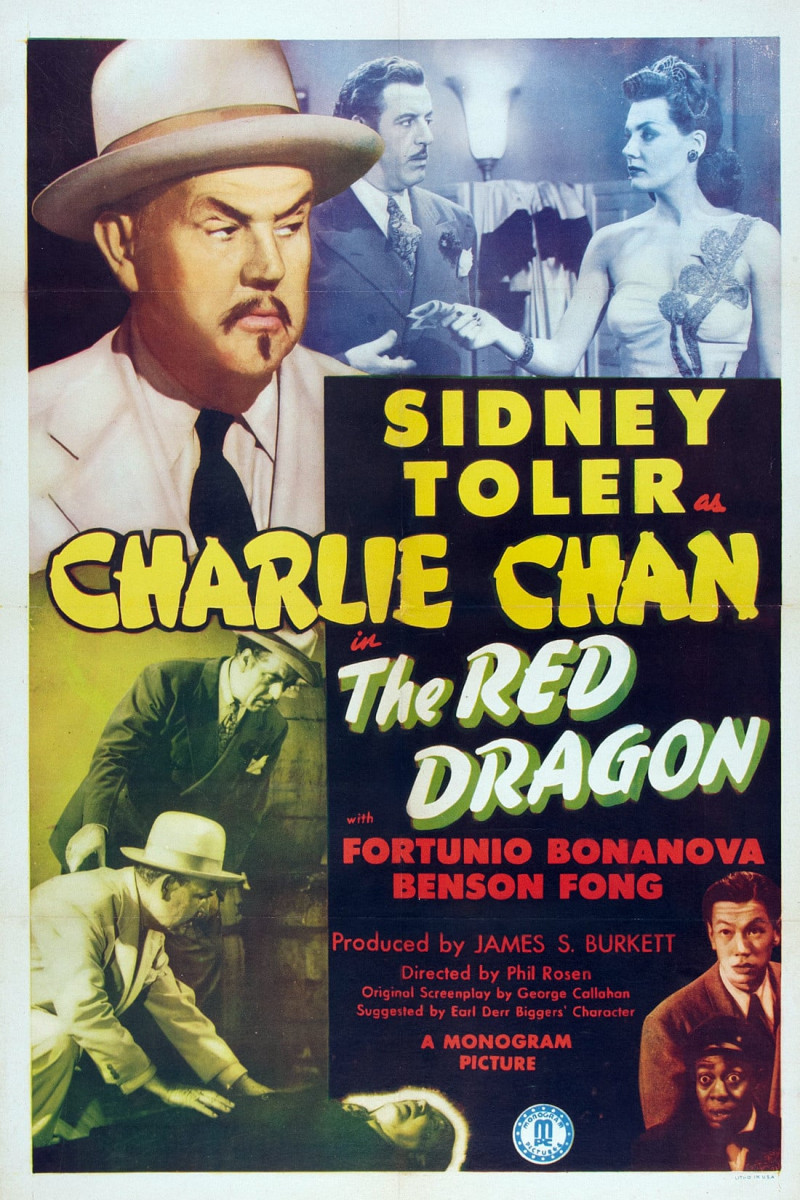 Charlie Chan in The Red Dragon (1945)
