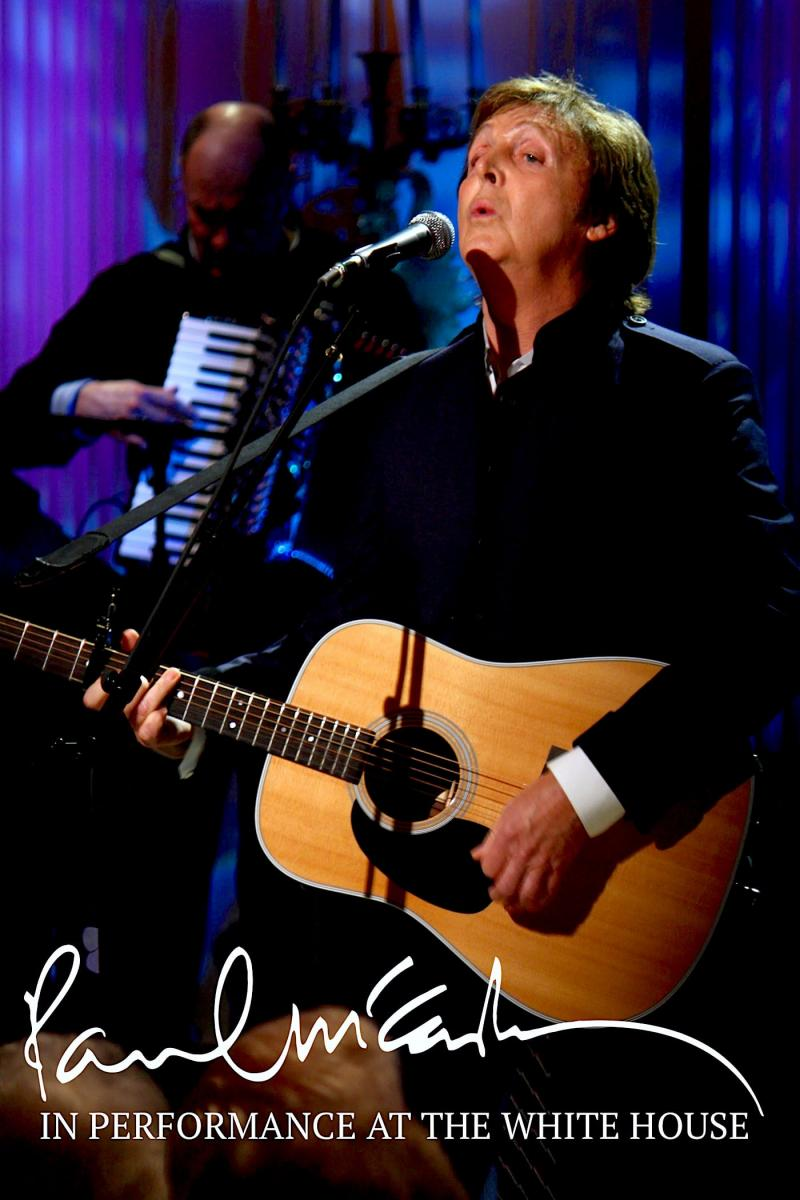 Paul McCartney In Performance at the White House (2010)