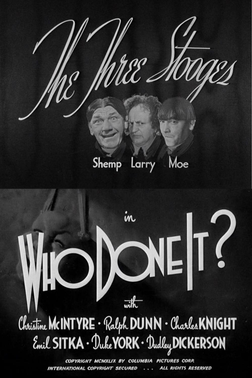 Who Done It? (1949)