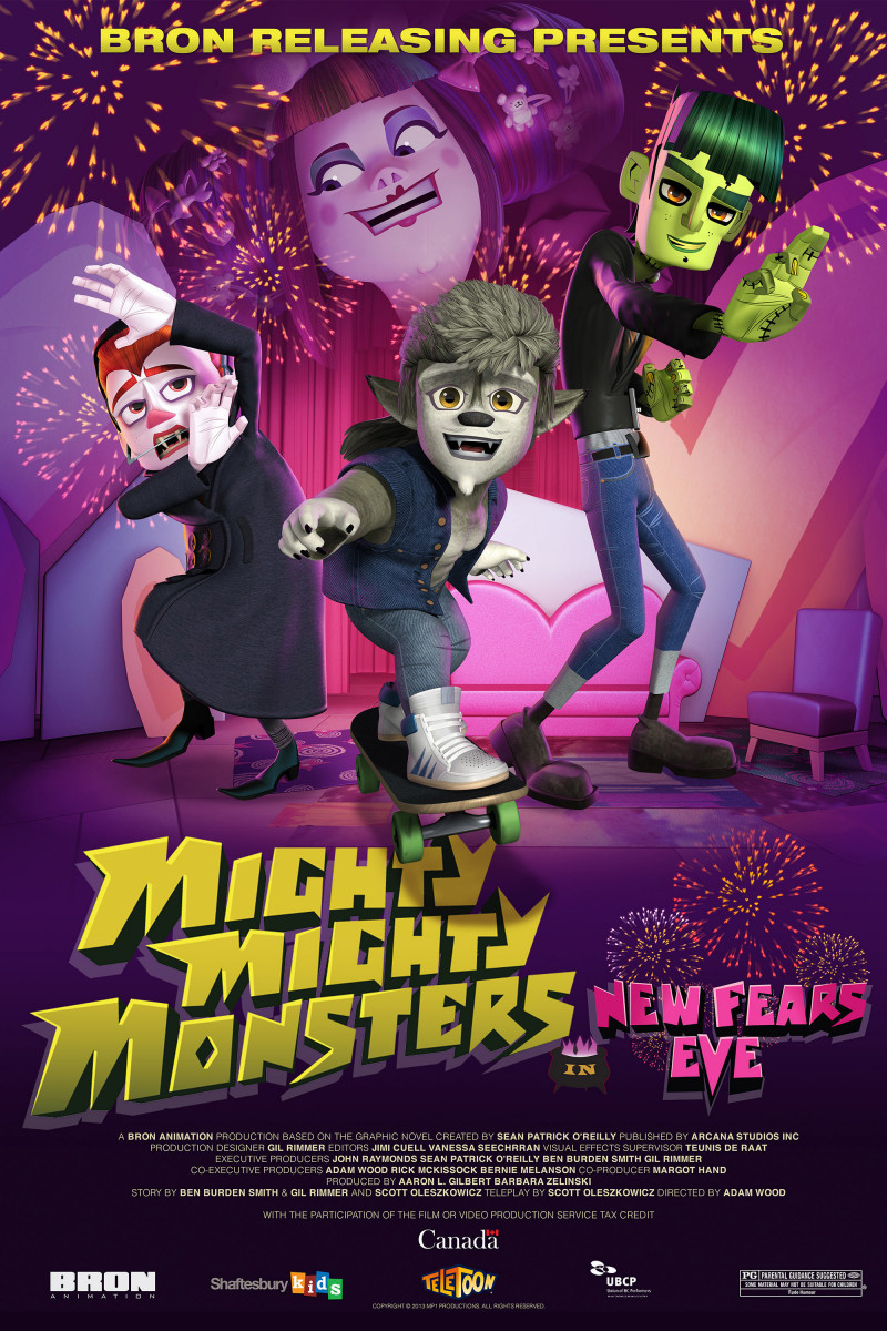 Mighty Mighty Monsters in New Fears Eve (2013)