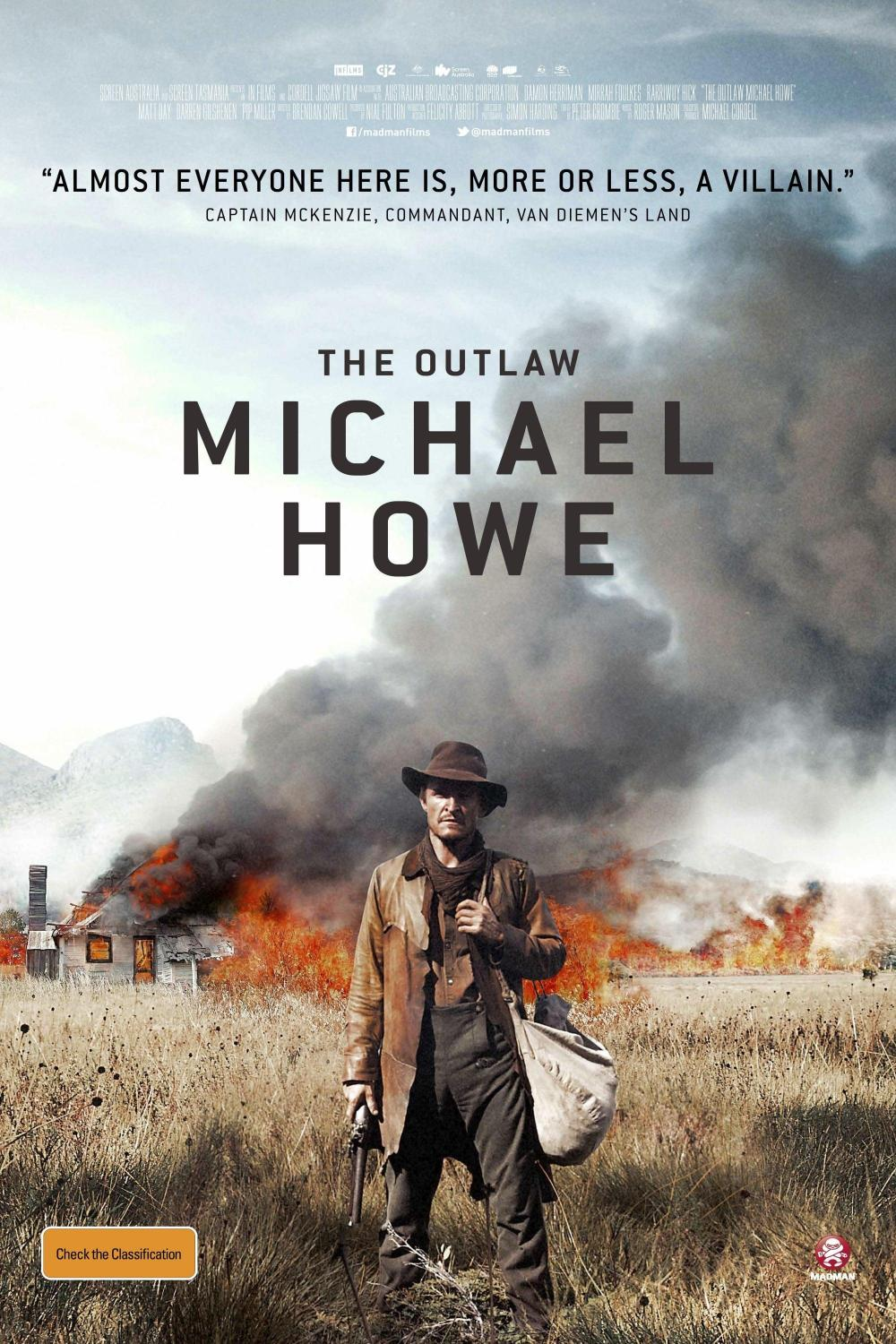 The Outlaw Michael Howe (2014)