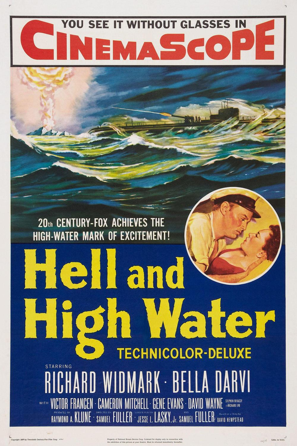 Hell and High Water (1954)