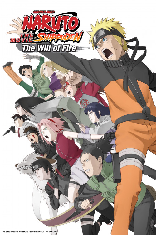 Naruto Shippuden the Movie: Inheritors of the Will of Fire (2009)