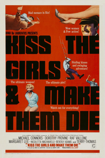 Kiss the Girls and Make Them Die (1967)