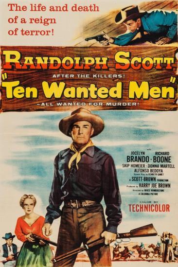 Ten Wanted Men (1955)