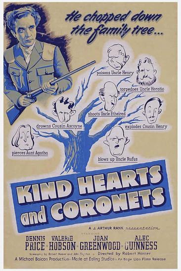 Kind Hearts and Coronets (1950)