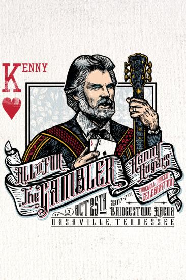 All In For The Gambler: Kenny Rogers Farewell Concert Celebration (2017)