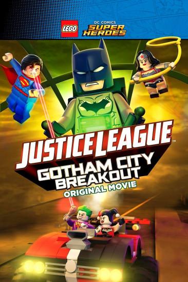 Lego DC Comics Super Heroes: Justice League - Gotham City Breakout (2016)