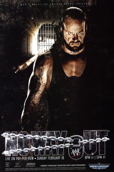 WWE No Way Out 2007 (2007)