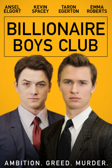 Billionaire Boys Club (2018)