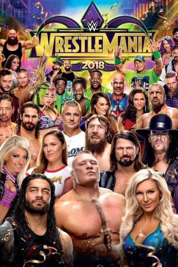 WWE WrestleMania 34 (2018)