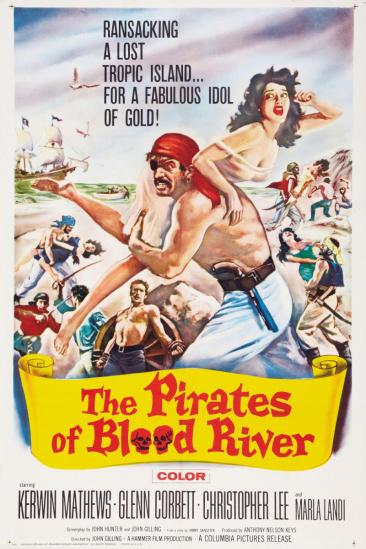 The Pirates of Blood River (1962)