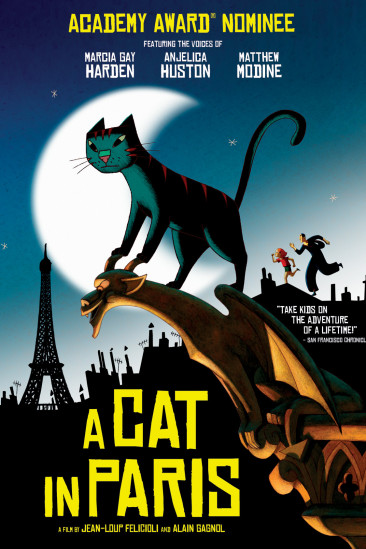 A Cat in Paris (2012)